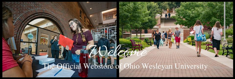 Welcome to OWU Webstore image of campus life